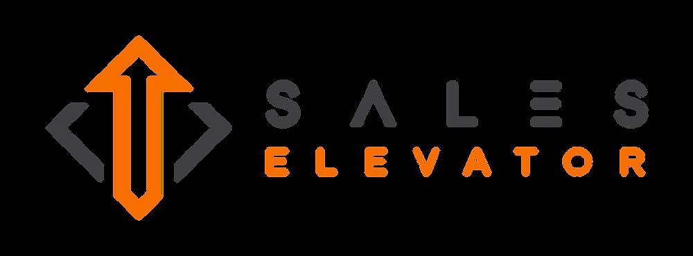 Sales, elevator, logo