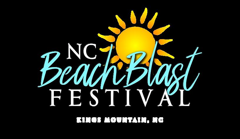 NC BeachBlast Festival Logo (Beach Blue)