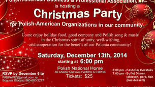 2014 CHRISTMAS PARTY for all PABPA Members and their Guests!
