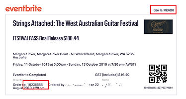 Strings Attached The WA Guitar Fesival Passes
