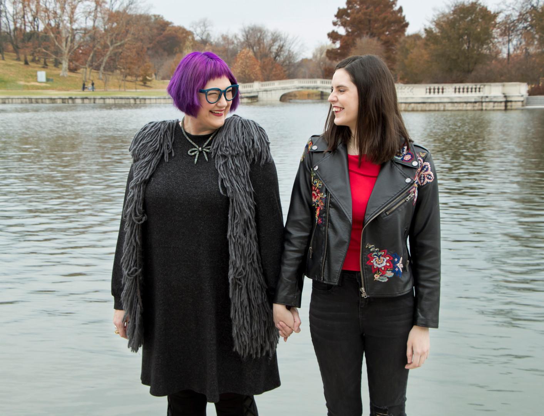 Meg and Vicky