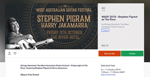 Strings Attached The WA Guitar Fesival Event Listing