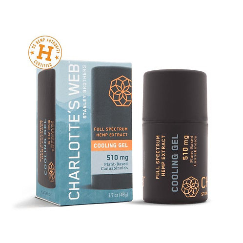 HEMP-INFUSED COOLING GEL WITH CBD