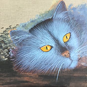 Feeling Blue Cat