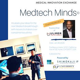 MedTech Minds Jan. 2020 E-Learning Summary