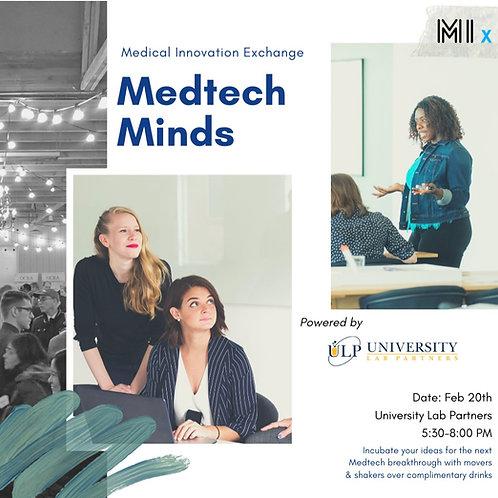 MedTech Minds Feb. 2020 E-Learning Summary