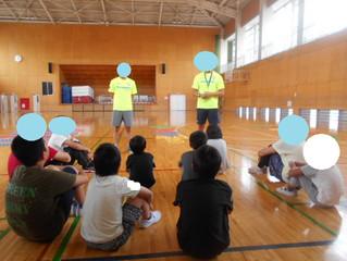 ラグビー教室🏉(朝日)