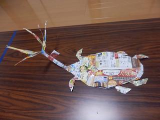 芸術的な折り紙