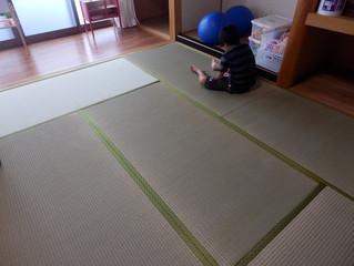 新しい畳と遊びの知恵😊