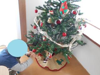 クリスマスツリーの飾りつけ&12月の制作🎄🎅🌟(下新田)
