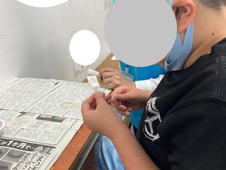朝顔づくりをしまた🌞(六供)
