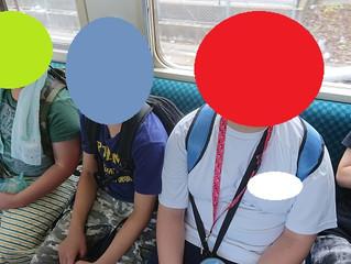 電車乗車体験🚉🚃
