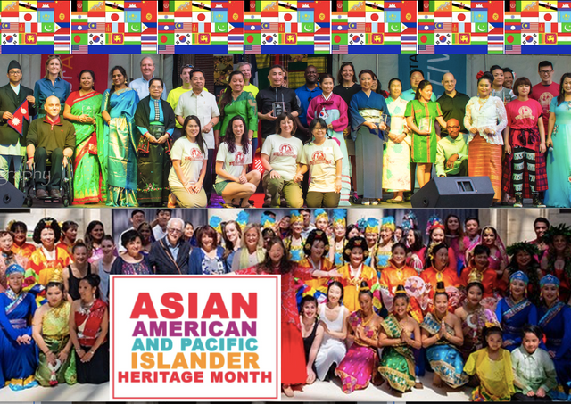 April is Asian Pacific Island Heritage Month