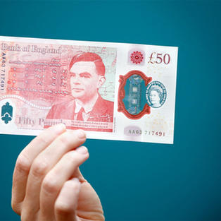 ALAN TURING HONORED
