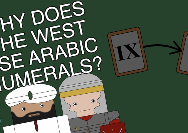 WHY DOES THE WEST USE ARABIC NUMERALS?