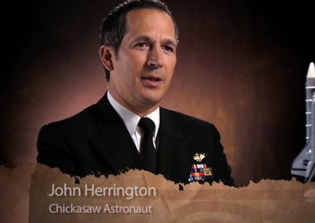 JOHN HERRINGTON NATIVE AMERICAN ASTRONAUT