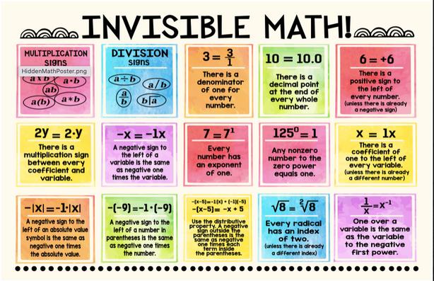 Invisible Math