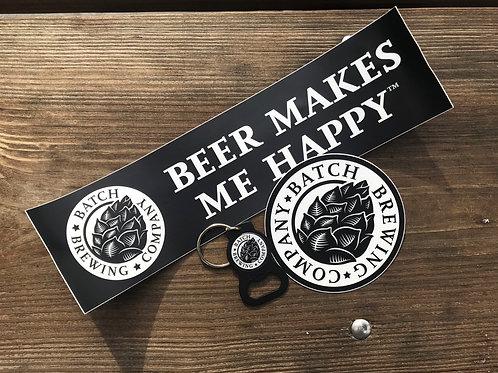 Beer Makes Me Happy Package D