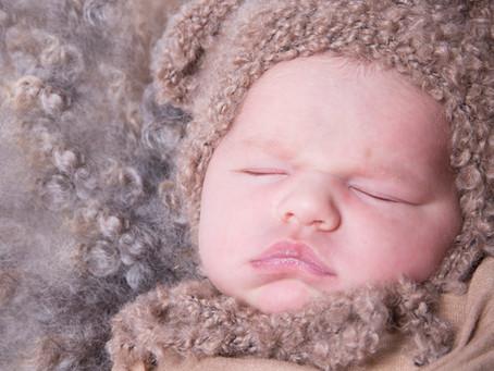 Imogen's newborn baby photoshoot
