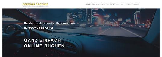 Limousinenservice Homepage erstellen