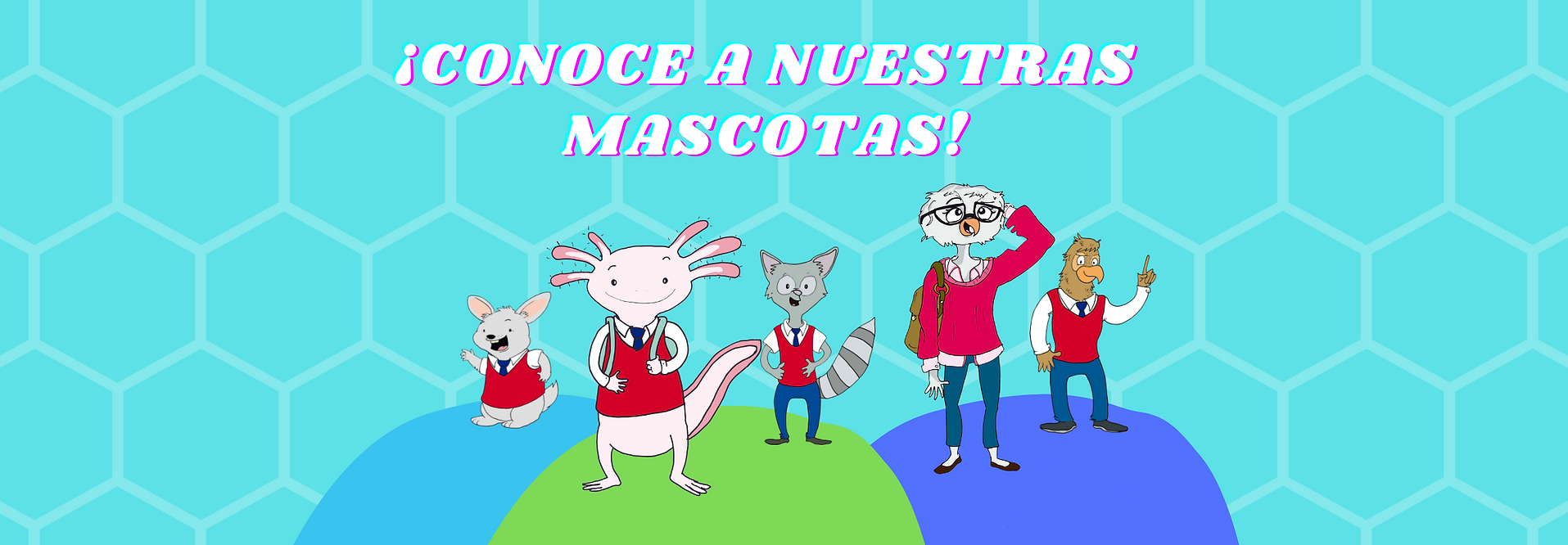 CONOCE A NESTRAS MASCOTAS