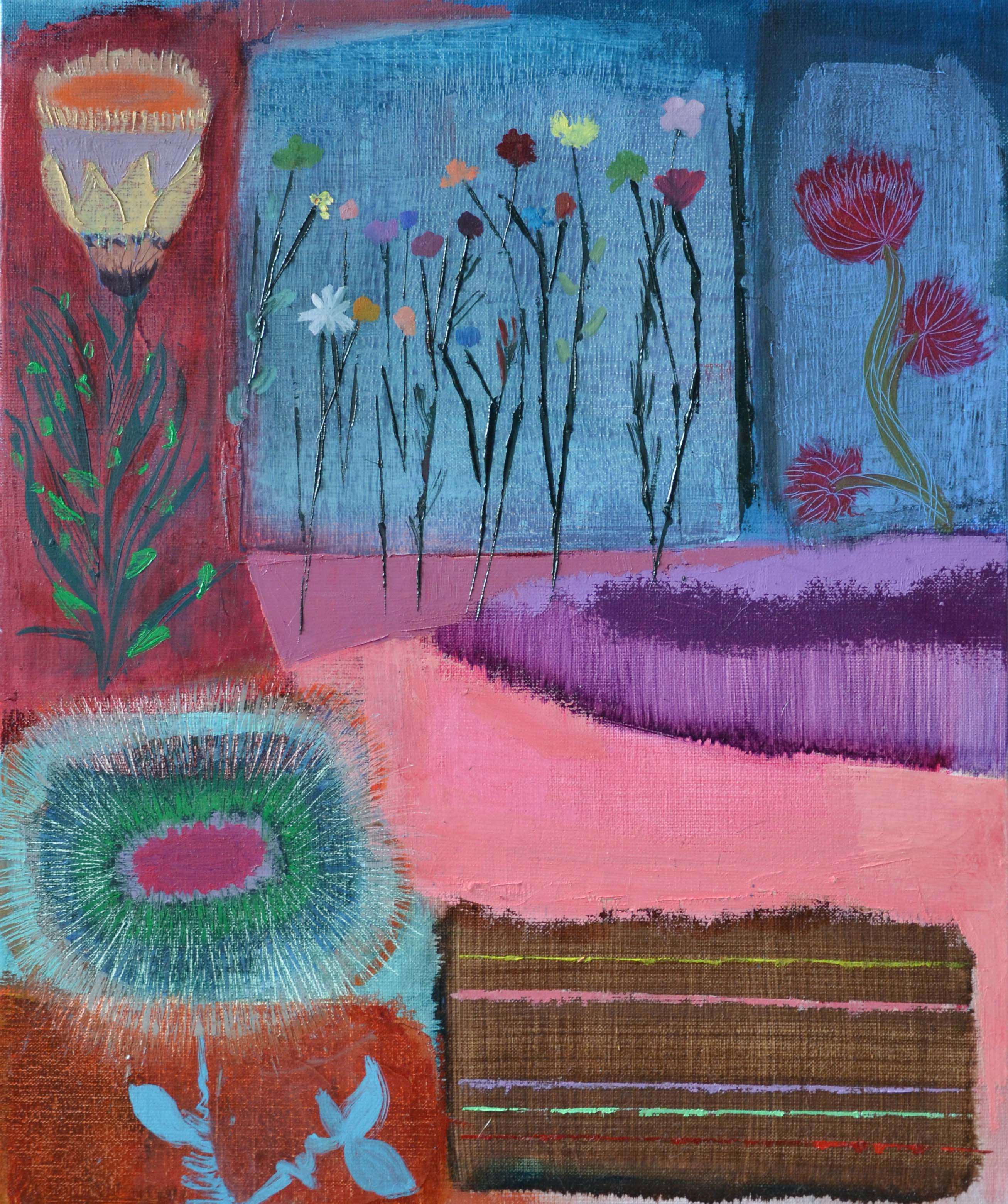 Mini Fleurs, 2014, Private collection