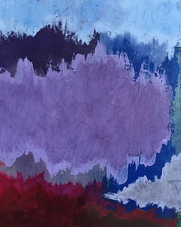 Bleu, violet, rose, 2017