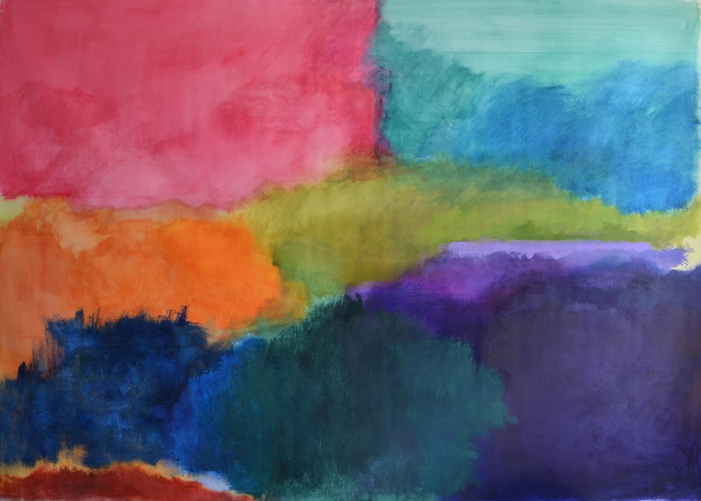 """""""Escape into colors"""", 2020"""