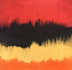 """""""Rouge, noir jaune, orange"""""""