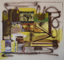 """""""Yellow,"""" Private collection"""