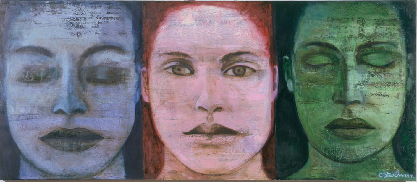 Trois Visages, 2004, Private collection
