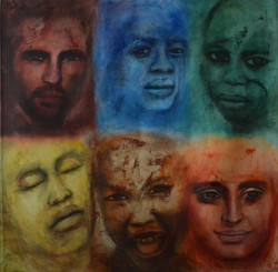 Six Visages, 2005, Private collection