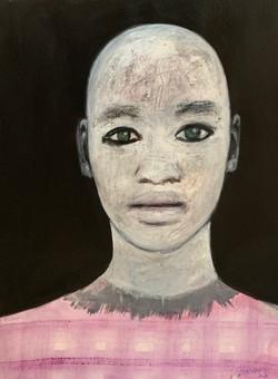 """""""Portrait au fond noir"""""""