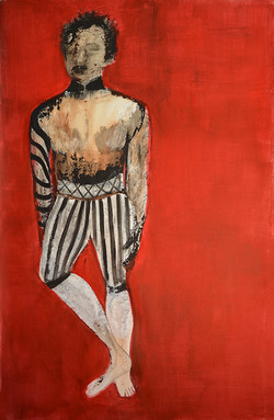 Man with red, 2017