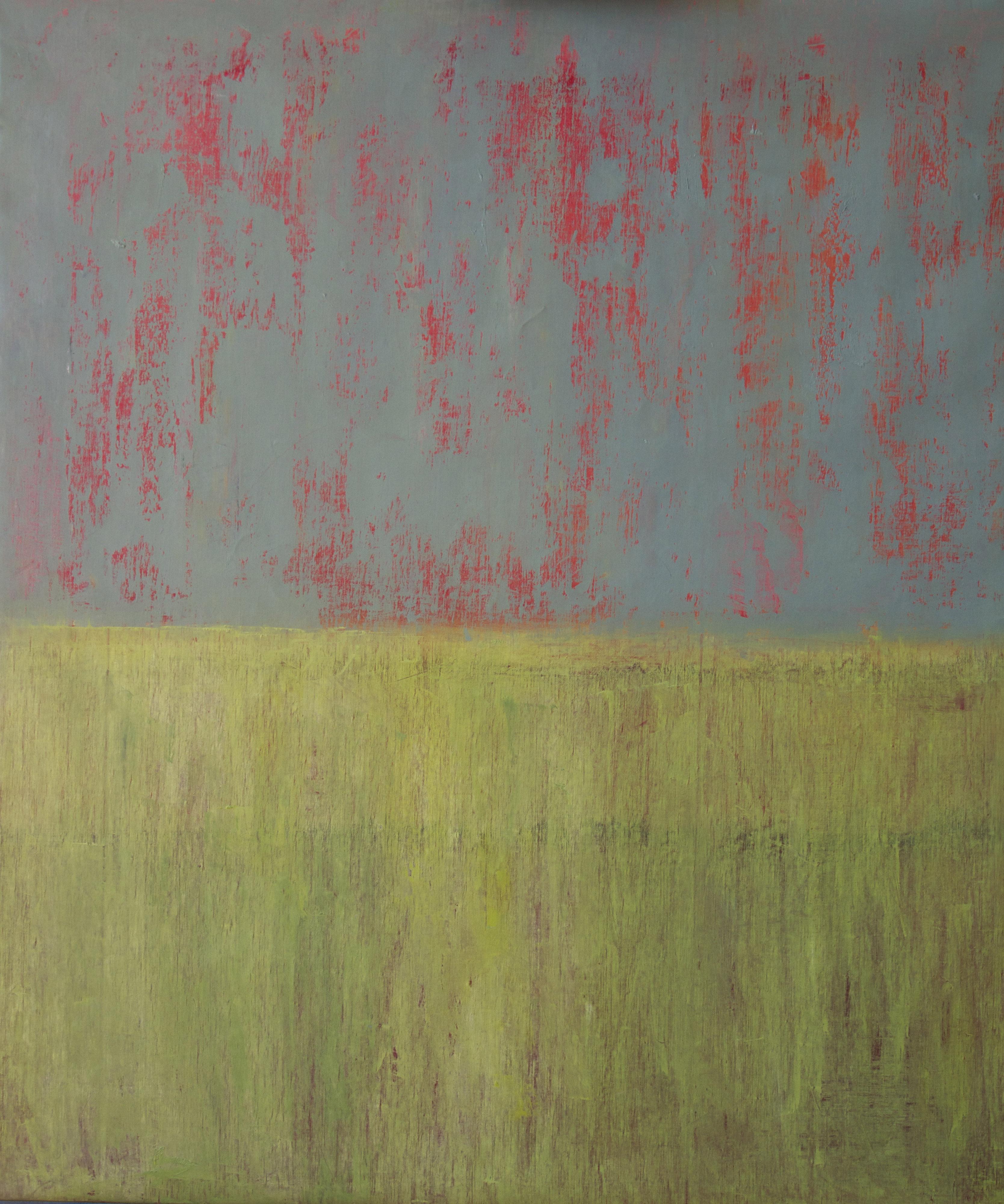 Jaune avec du Rouge en dessous,2010