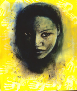 Visage Jaune, 2006, Private collection