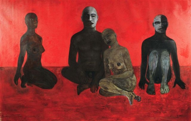Le Rouge, 2000, Private collection