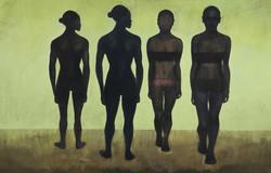 Quatre Femmes Vert, 2002, Private collection