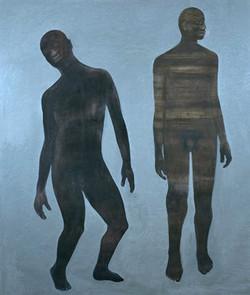 2 Personnages dont un, 2000, Private collection