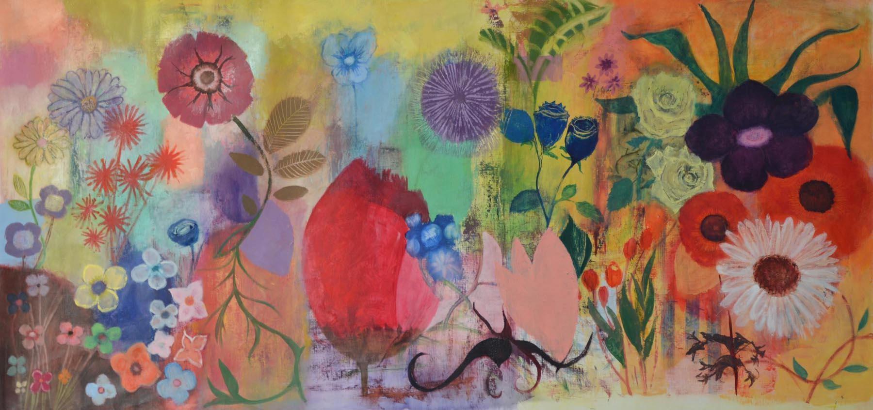 Vous avez dit Fleurs? 2013, Private collection