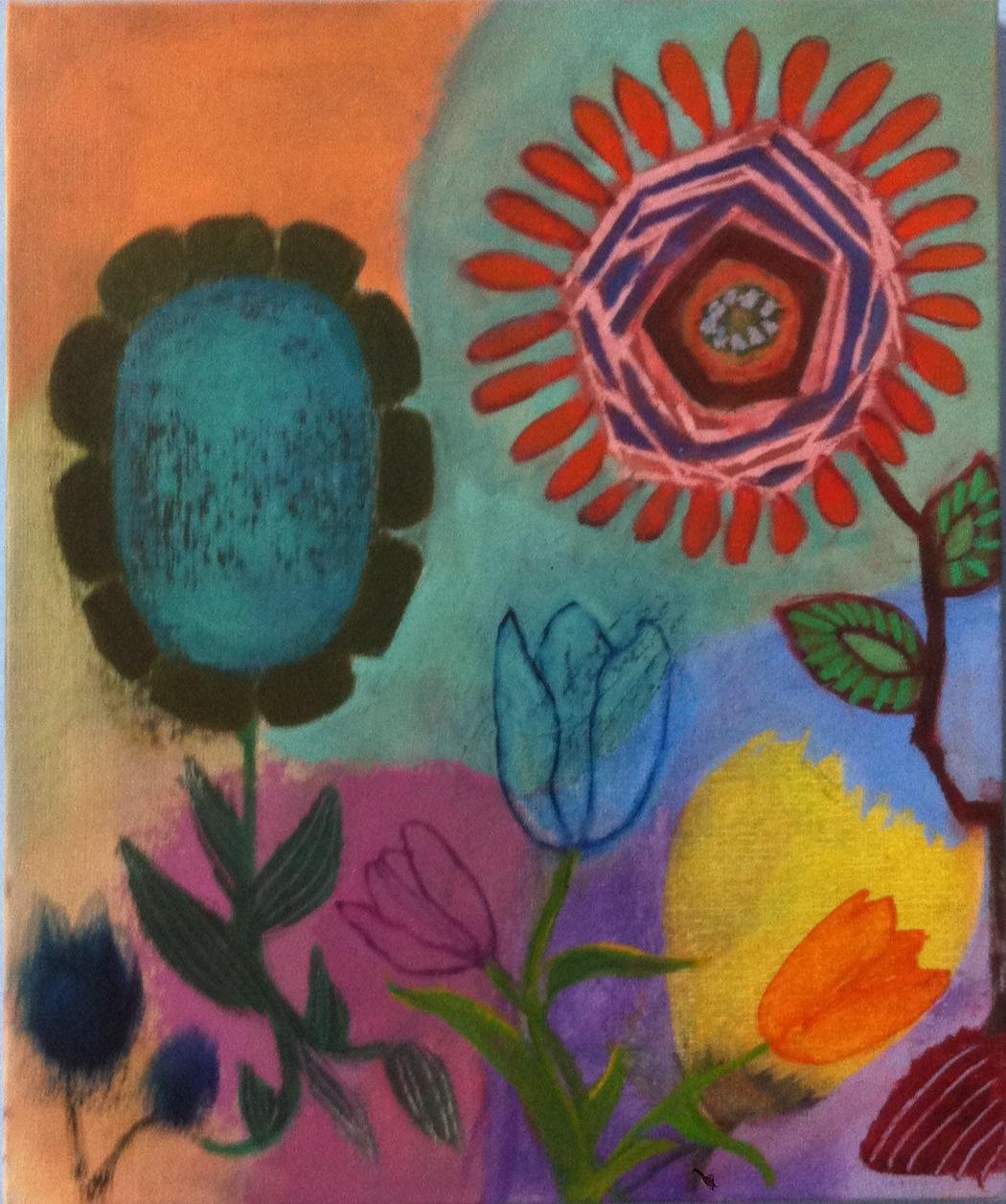 Mini Fleurs 3, 2015