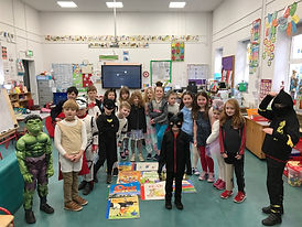World Book Day at Derryquay
