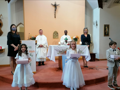 FIRST HOLY COMMUNION 2020