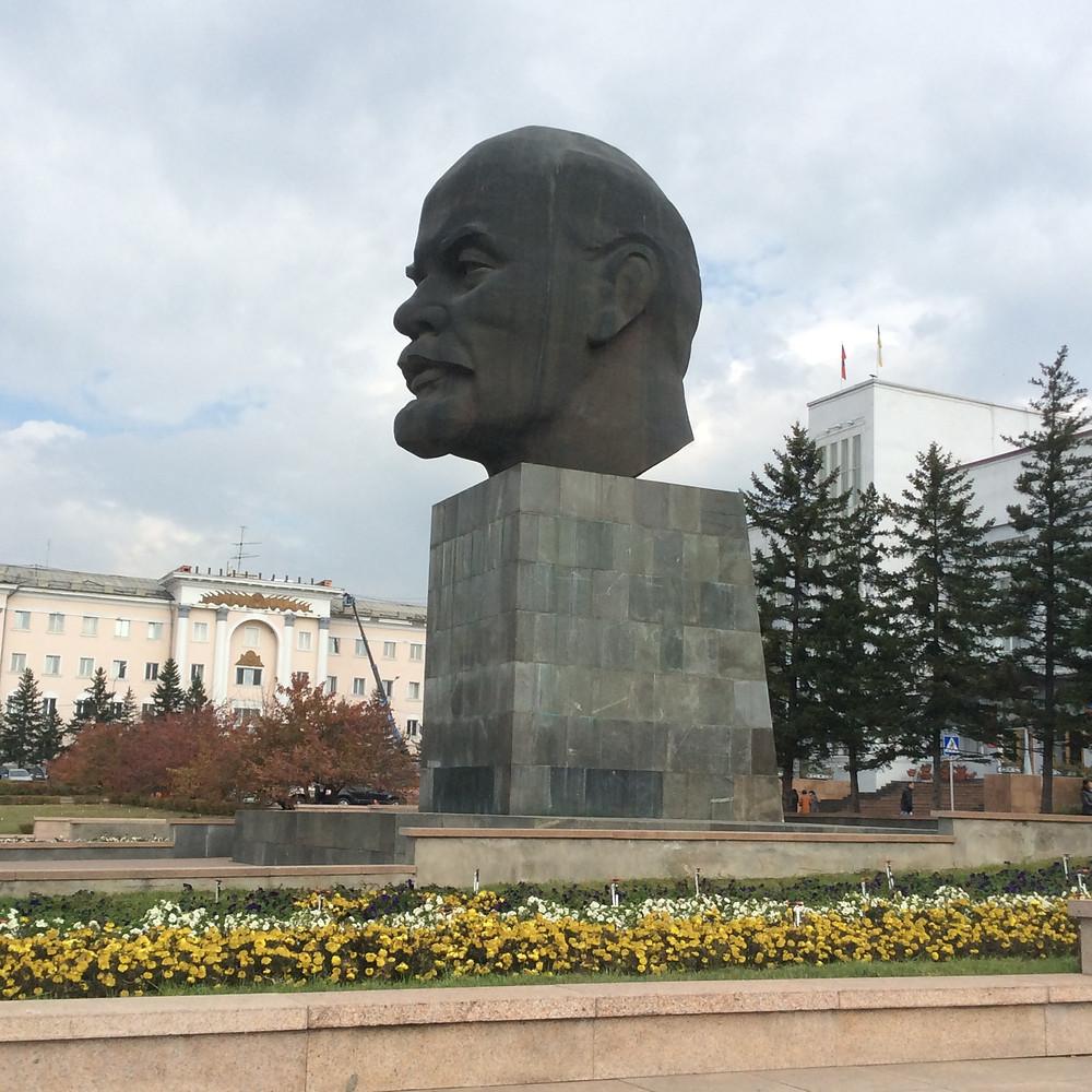 Вездеход Самурай. Дедушка Ленин.