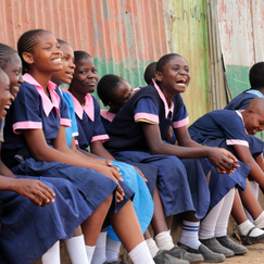 With a Ruby Cup girls feel confident to participate in after school programmes, play with their friends, run, jump