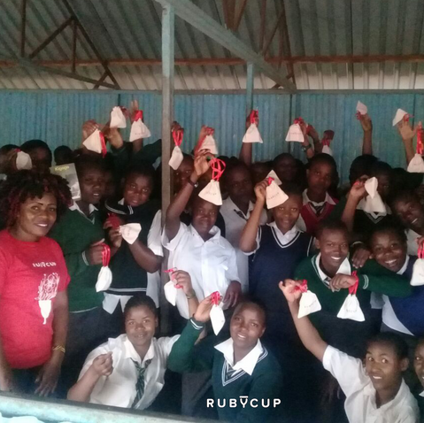 Ruby Cup Trainer Vanessa after a training. The girls love her and sometimes write her Thank You Letters.