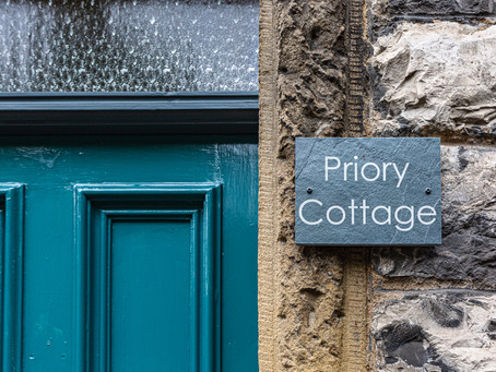The Priory Cottage in Bakewell - Interior Shoot