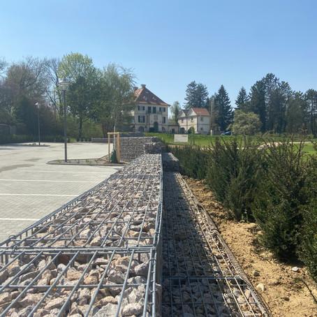 Erweiterung des Parkplatzes am Golfplatz für den Markgräfler Country Club 2020