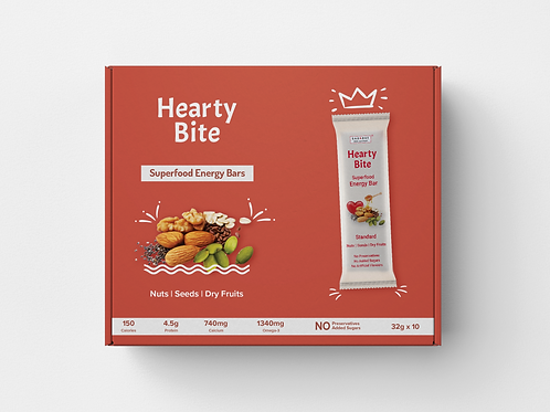 Hearty Bite - Standard - Pack of 10 x 32g
