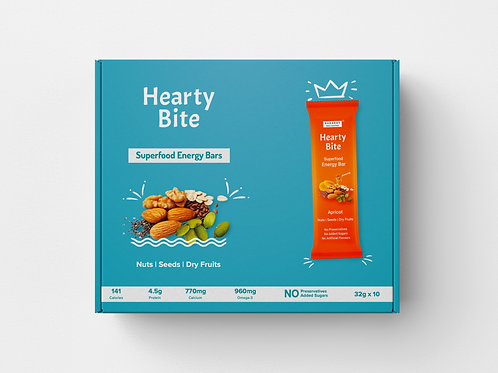 Hearty Bite - Apricot - Pack of 10 x 32g